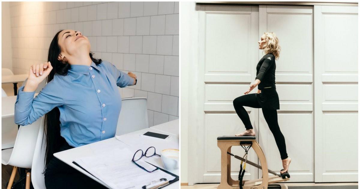 Фото Спортзал не спасет. Как помочь здоровью, если сидишь в офисе по 8 часов