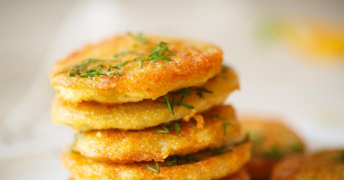 Фото Блинчики из картофельного пюре