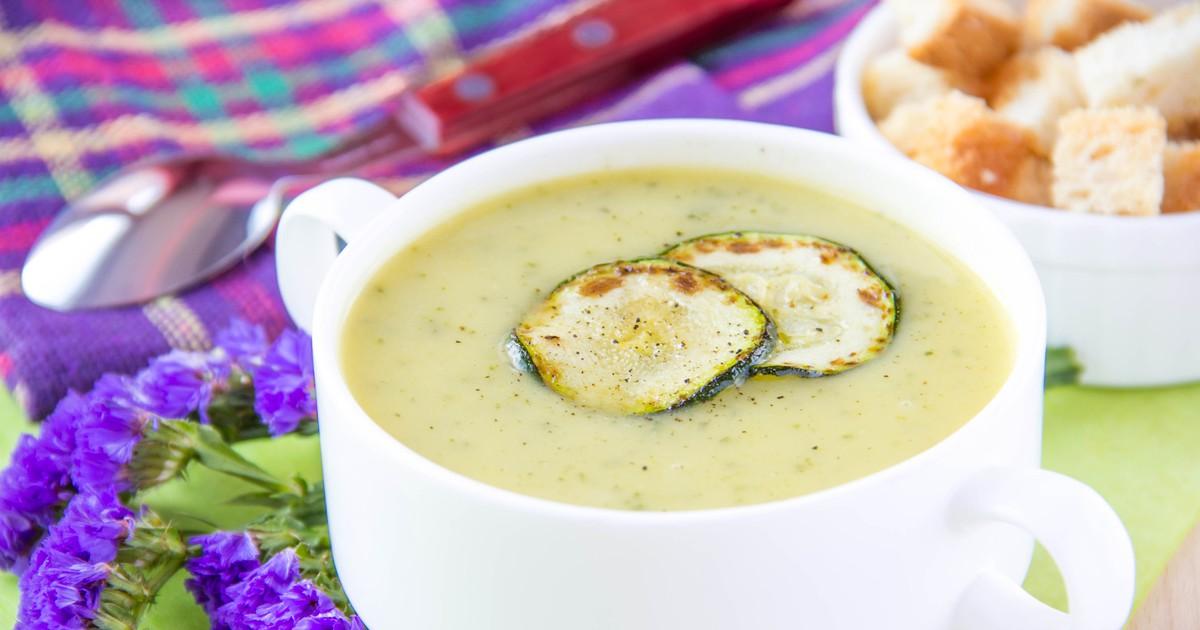 Фото Крем-суп из кабачков