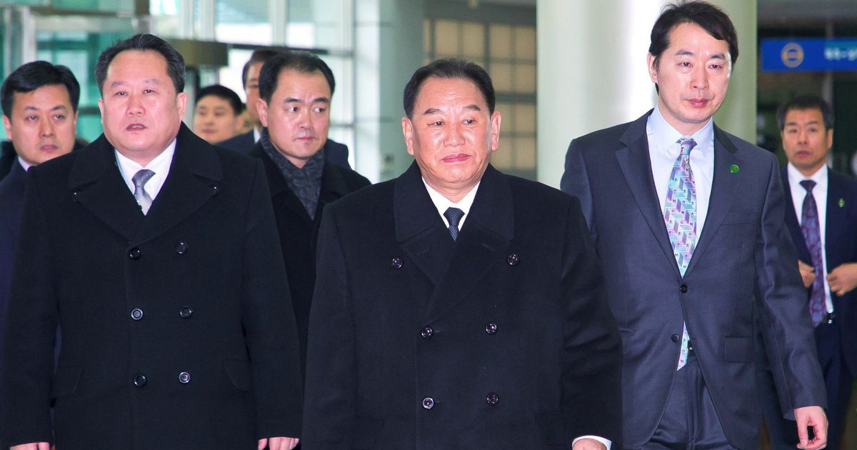 Photo of Kim Jong Un Sends Aide to U.S. for Pre-Summit Talks, Yonhap Says