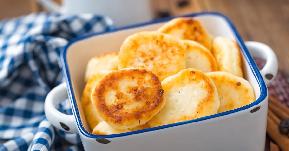 Фото Нежные и пышные сырники без яиц