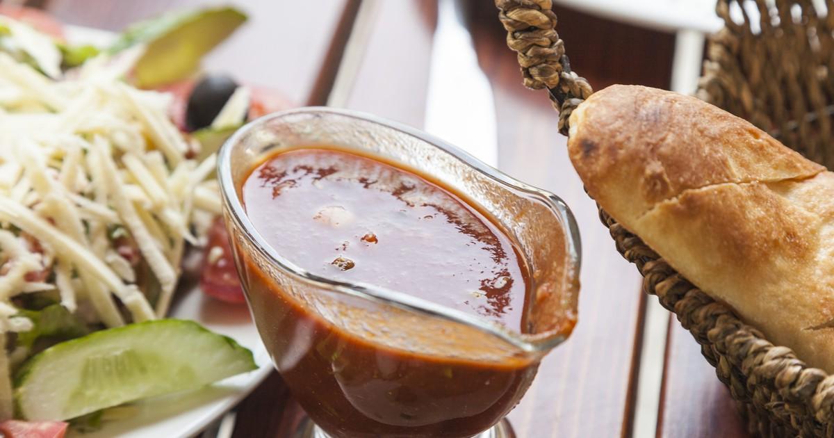 Фото Универсальный томатный соус с потрясающим вкусом.