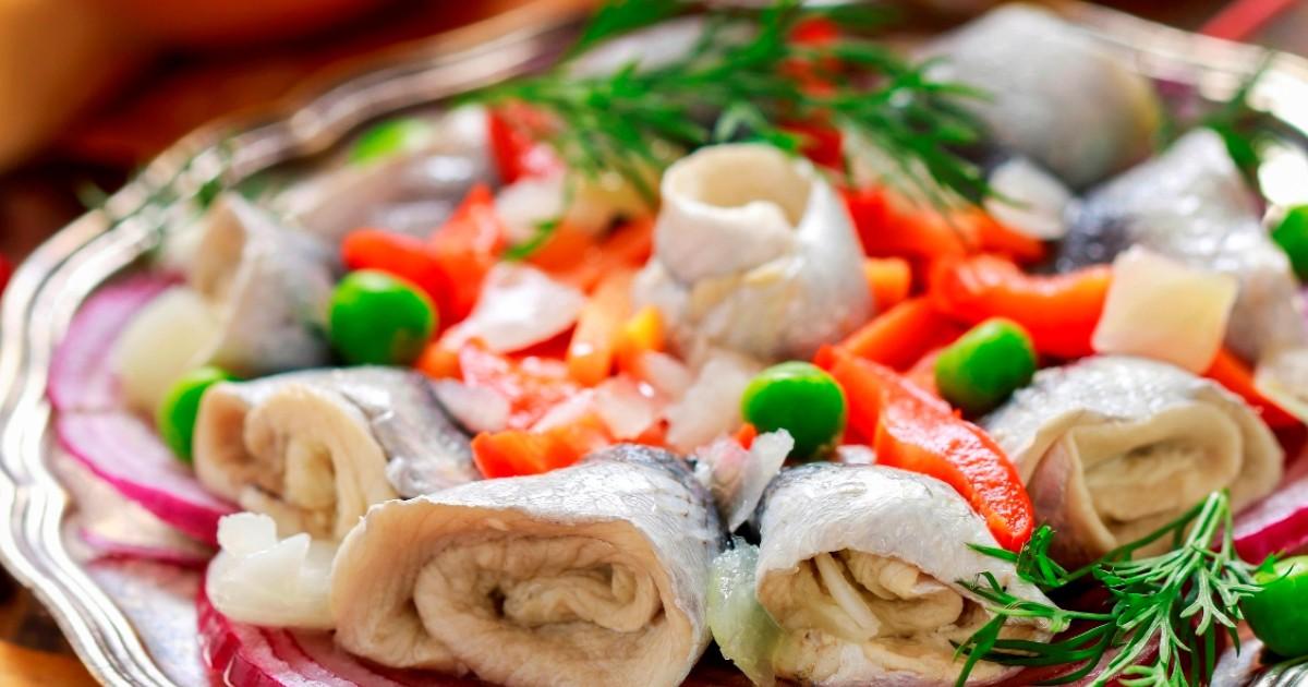Фото Аппетитная сельдь по-венгерски