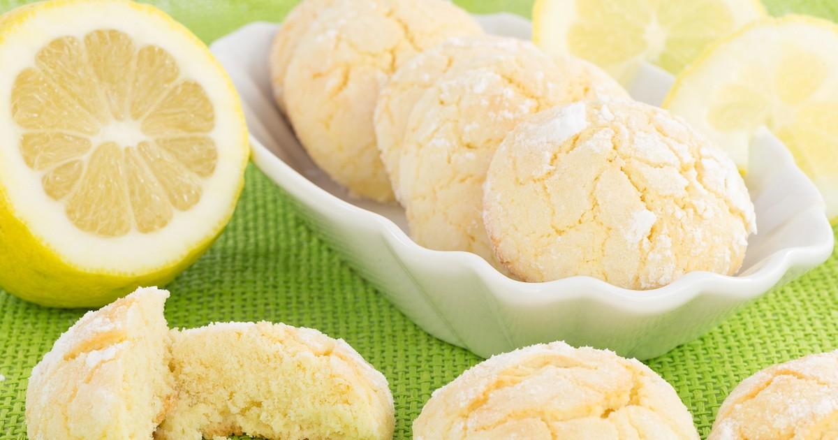 Фото Вкуснейшее лимонное печенье