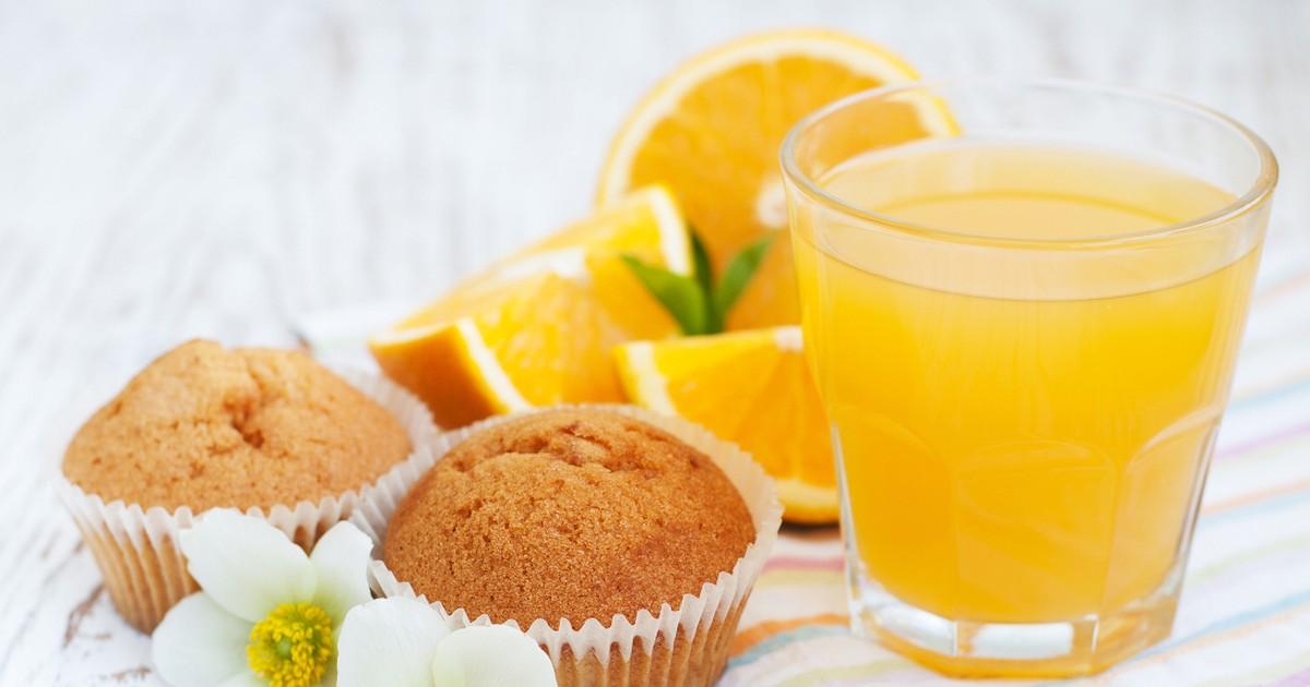 Фото Восхитительные апельсиновые кексы