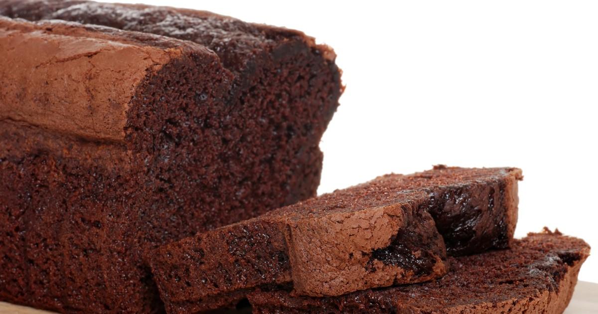 Фото Влажный шоколадный кекс