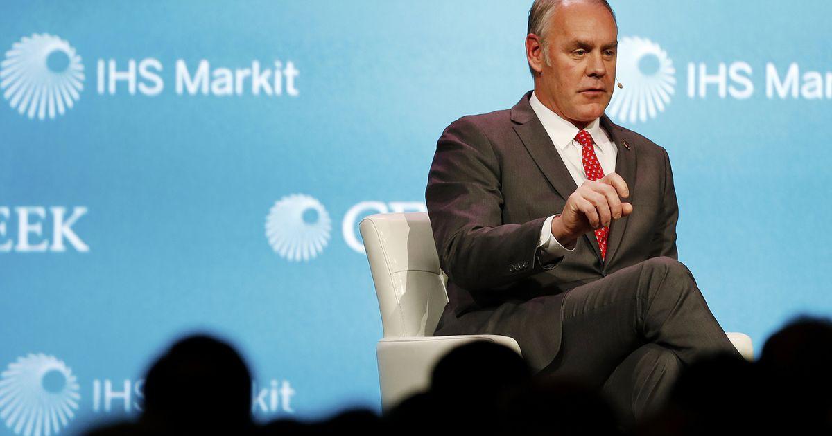 Photo of Watchdog to InvestigateZinke's Land Deal With Halliburton Chair