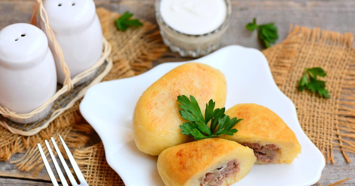 Фото Аппетитные картофельные зразы с мясом