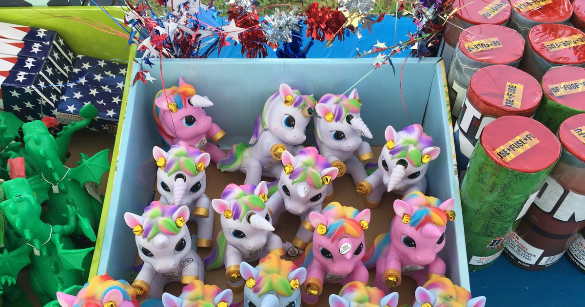 Photo of Fireworks Resembling 'My Little Pony' Toys Are Being Sold in North Carolina