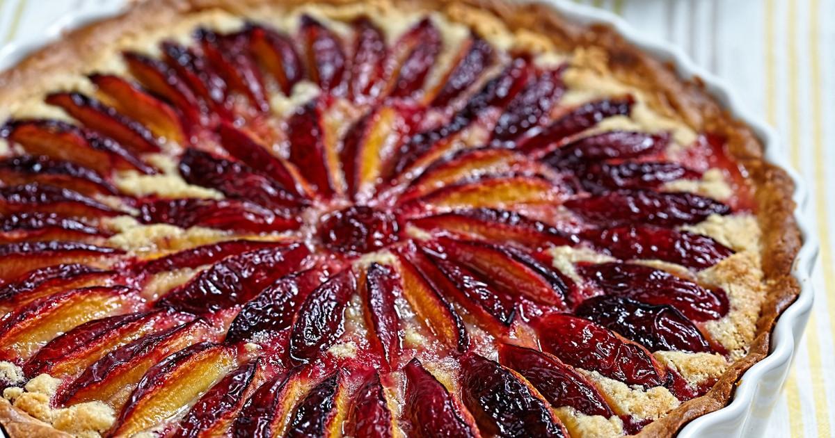 Фото Домашний сливовый пирог