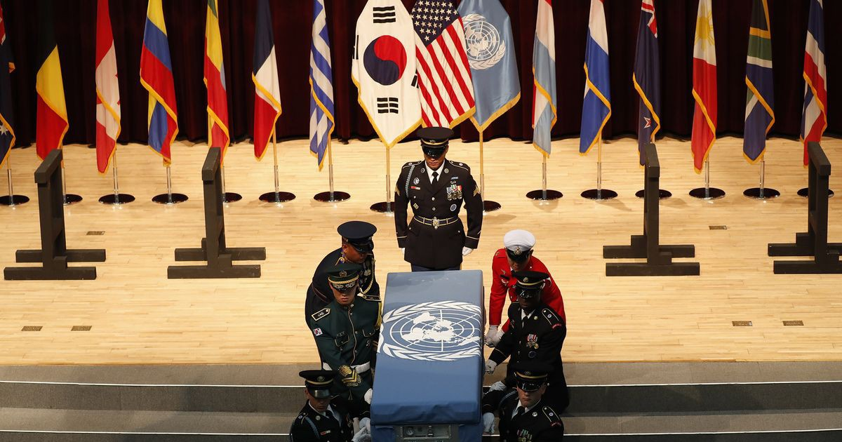 Photo of U.S., North Korea Discuss War Dead as Nuclear Dispute Simmers