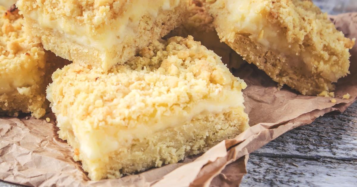 Фото Вкуснейший тёртый пирог с творогом