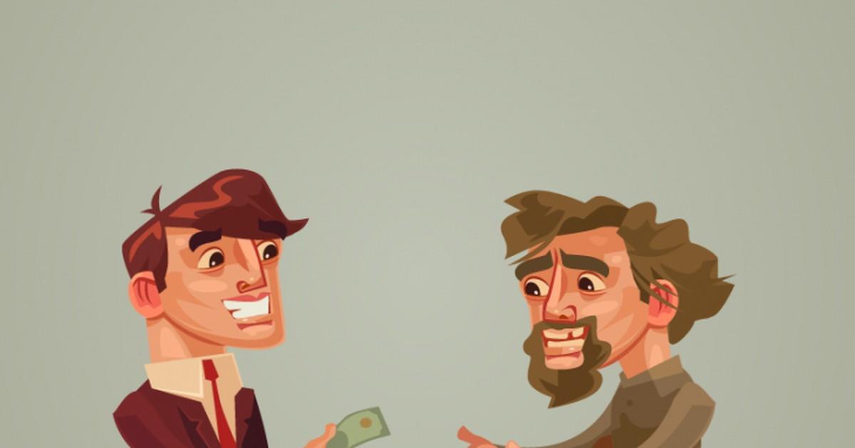 Фото Анекдот о том, как бизнесмен честного человека нашёл