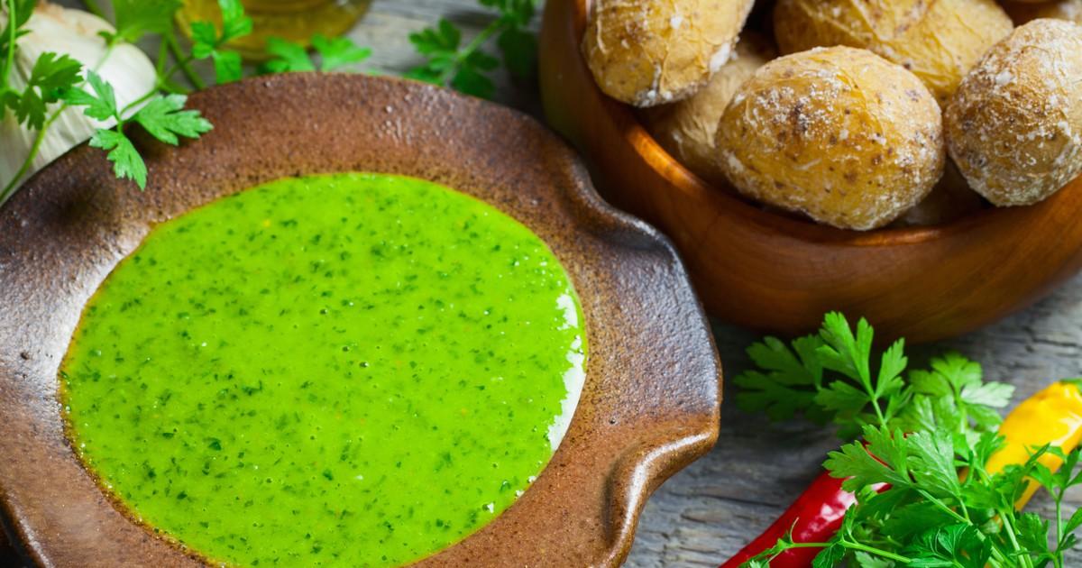 Фото Мохо верде – канарский зелёный соус