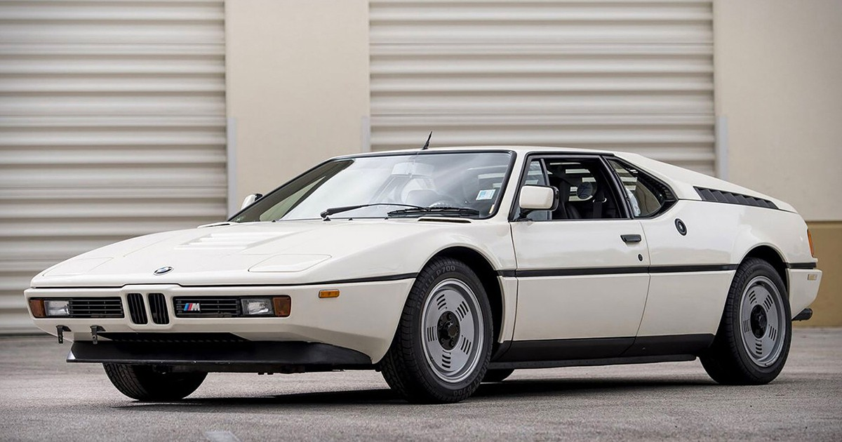 Photo of This 1981 BMW M1 Is Expected to Sell for Up to $450K
