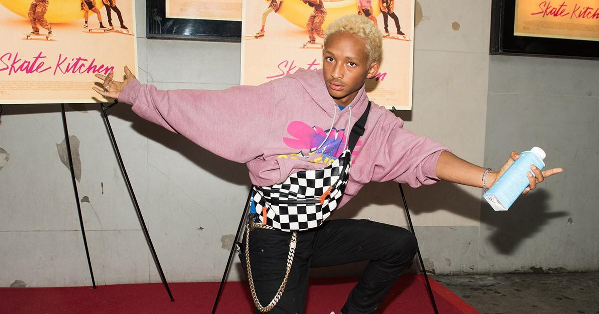Photo of The Drip | Jaden Smith's Custom Louis Vuitton x New Balance Kicks Are Next-Level