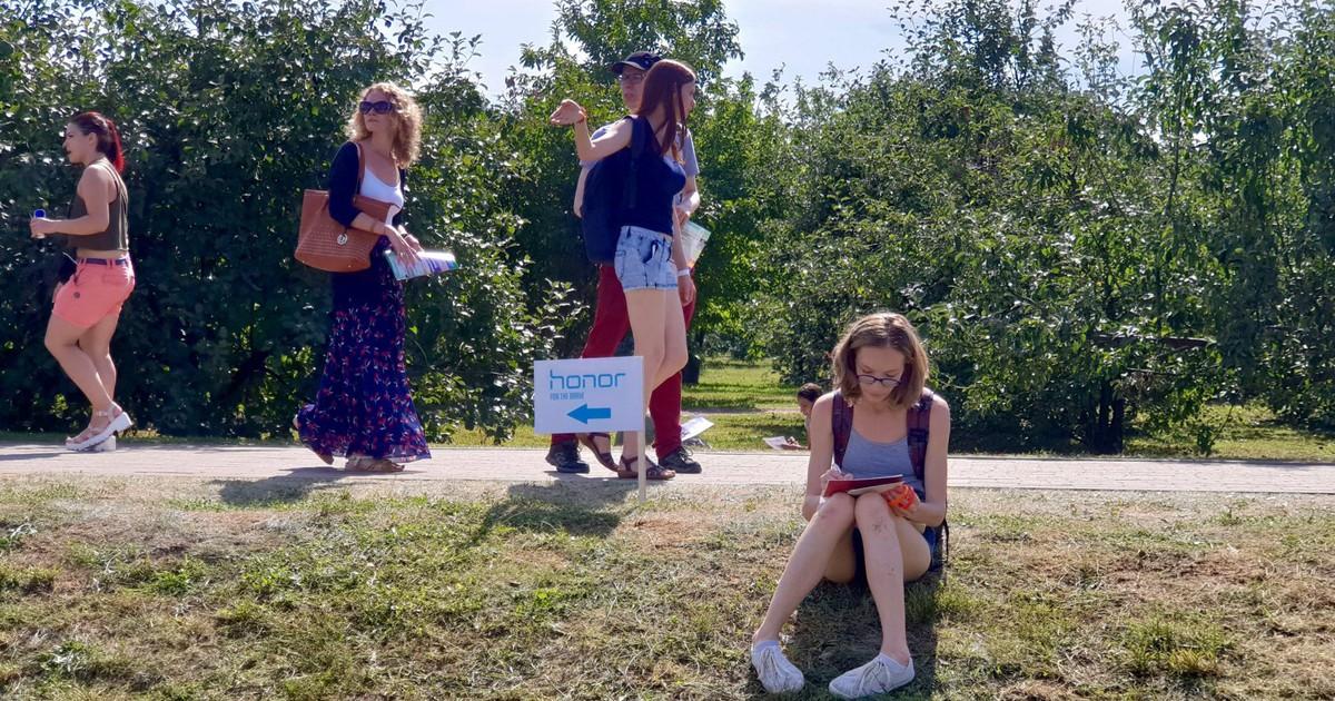 Фото Гики, бренды и еда: в Москве прошел пикник для умных