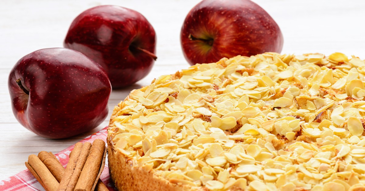 Фото Баварский яблочный торт