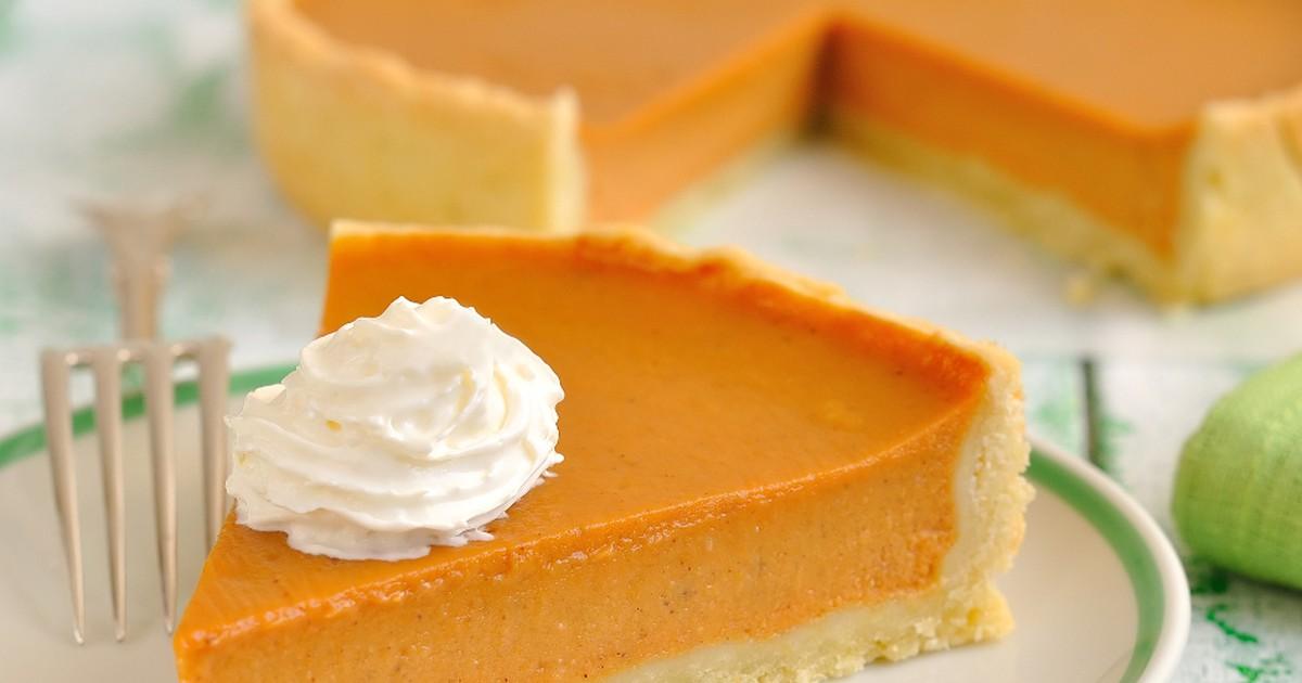 Фото Американский тыквенный пирог