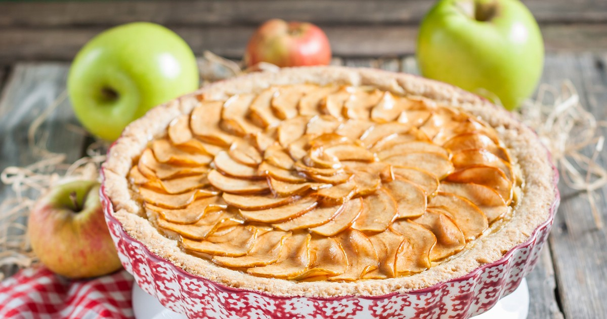Фото Французский яблочный тарт