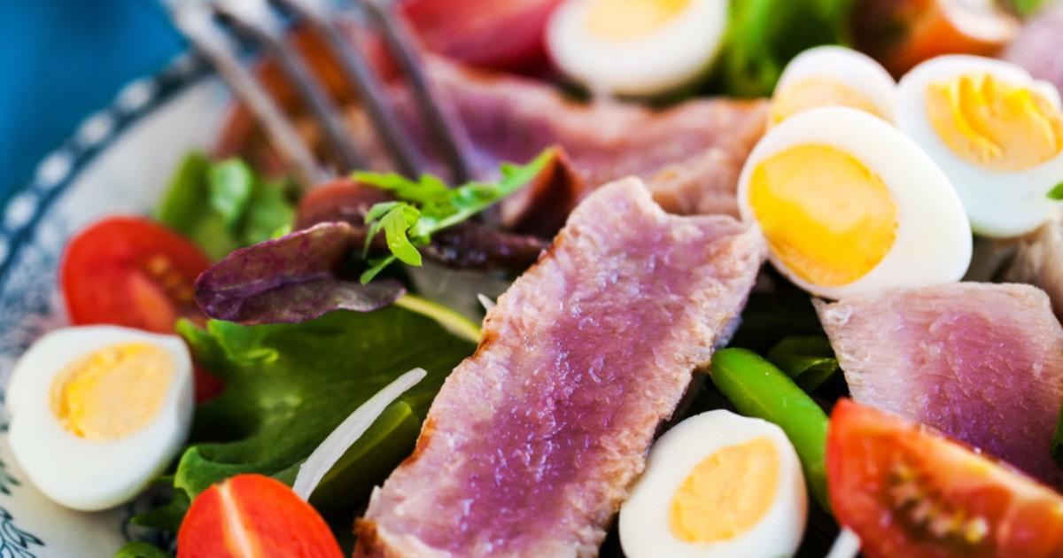 """Фото Вкуснейший салат """"Нисуаз"""""""