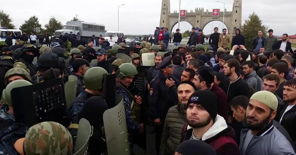Фото В чем проблема границы Чечни и Ингушетии?