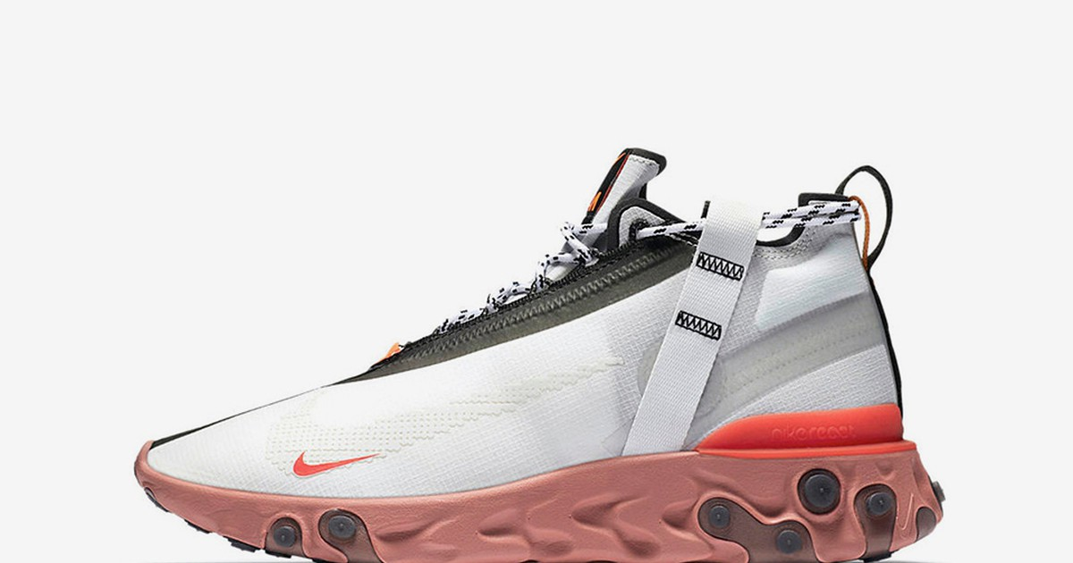Photo of Nike Debuts New Mid-Top React Sneaker in Two Colorways