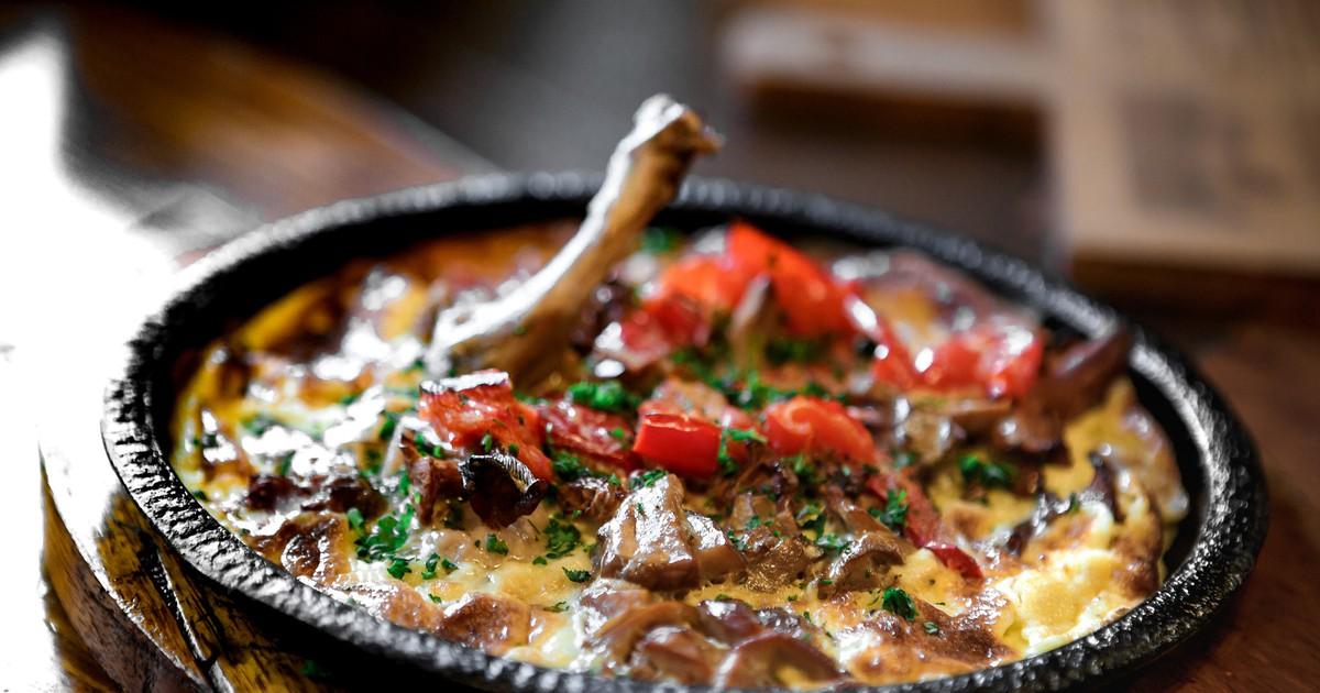 Фото Свинина с овощами в сливочном соусе