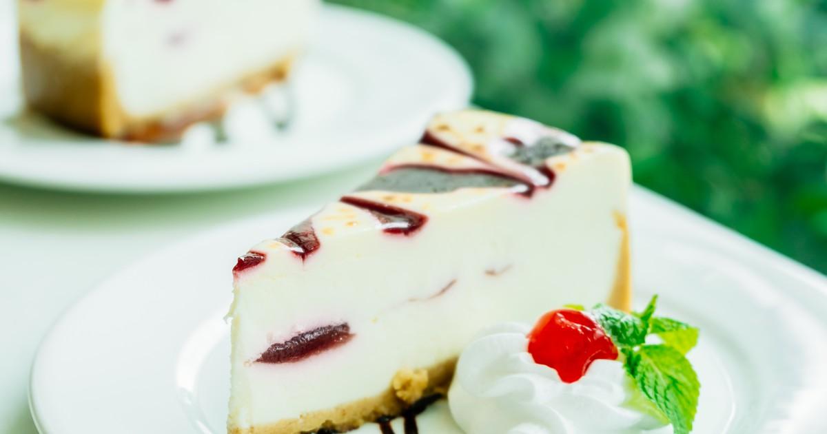 Фото Творожный пирог с малиной