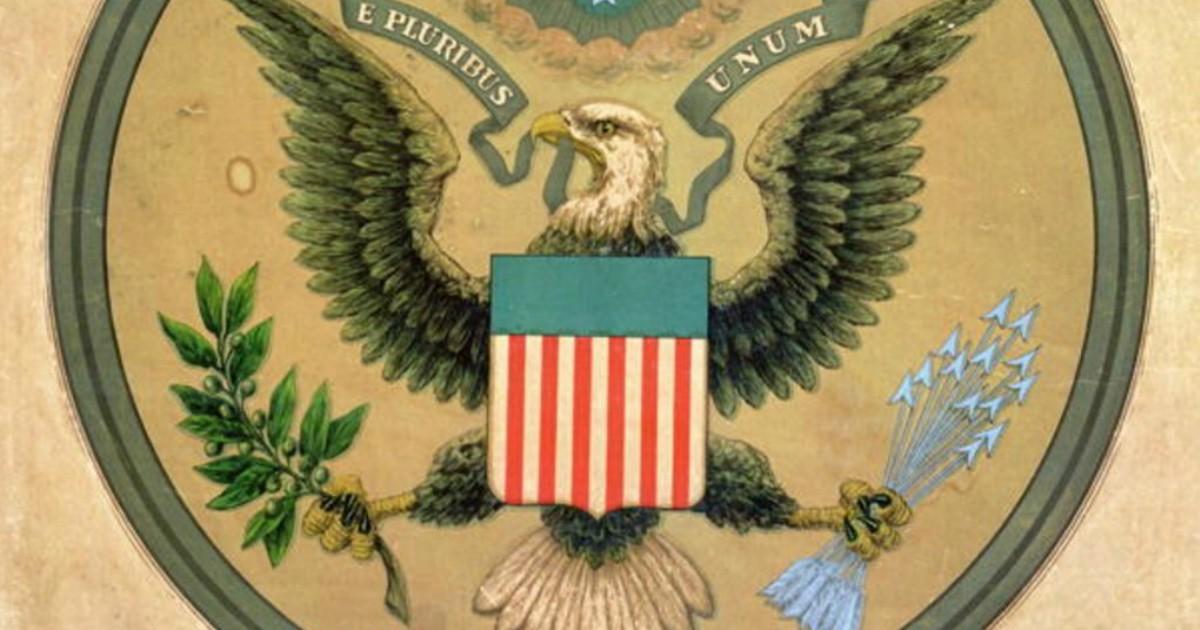 Фото Оливки на гербе США. Зачем они Путину?