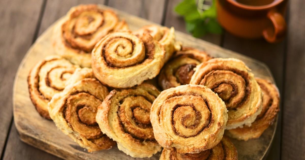 Фото Домашние булочки с корицей
