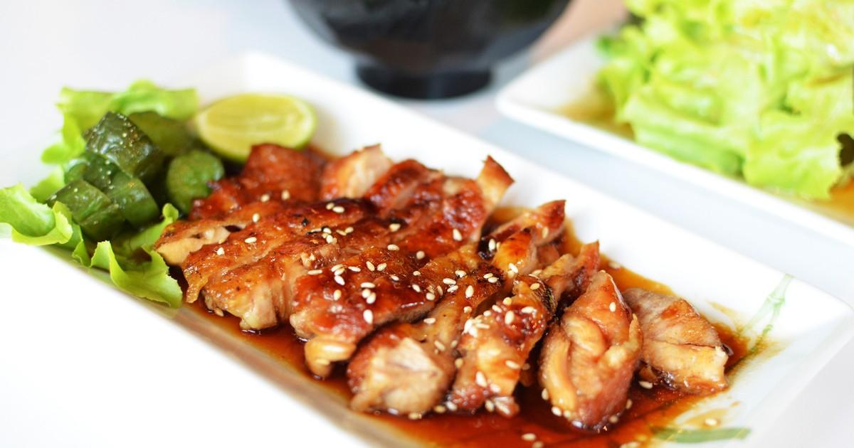 Фото Вкуснейшая курица терияки