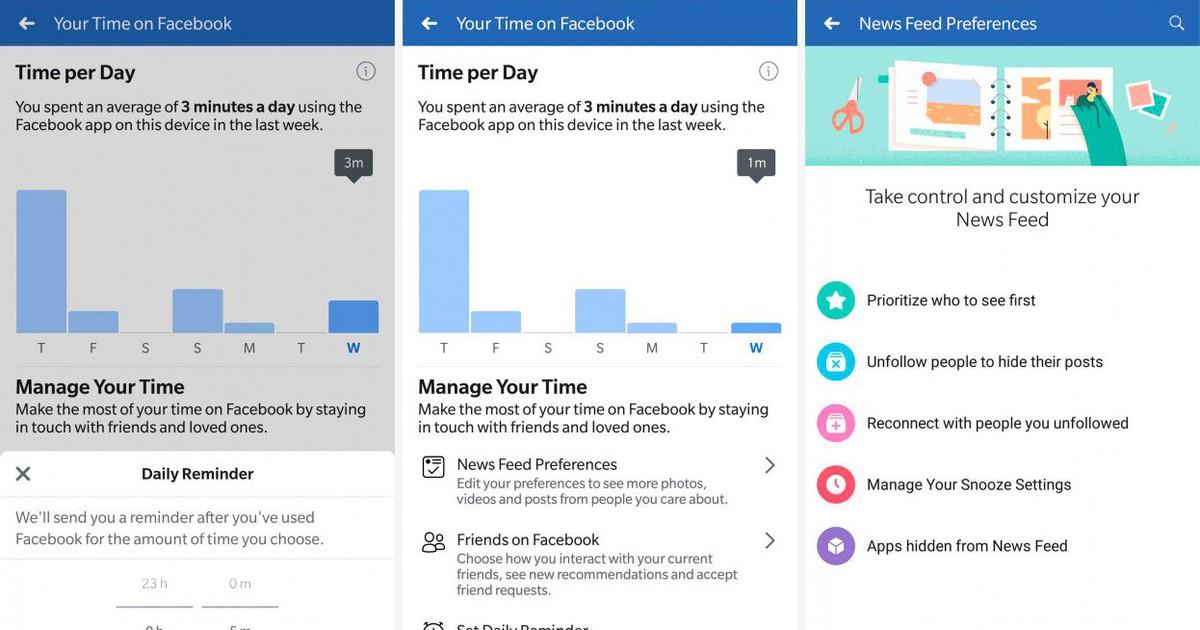 Photo of Facebook libera recurso para monitorar tempo de uso; Google Assistente ganha integração com a Siri