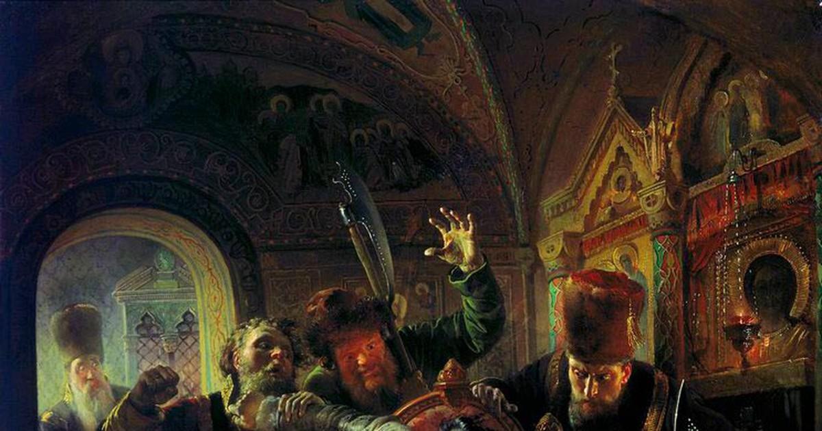 Фото Жестокая казнь Годуновых: самое крупное народное восстание