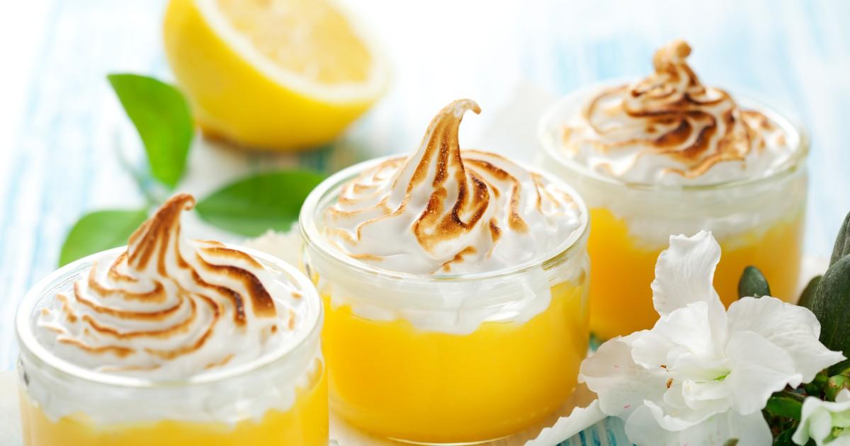 Фото Лимонный курд с меренгой - превосходный десерт!