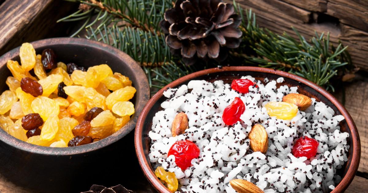Фото Кутья с рисом и маком на Рождество