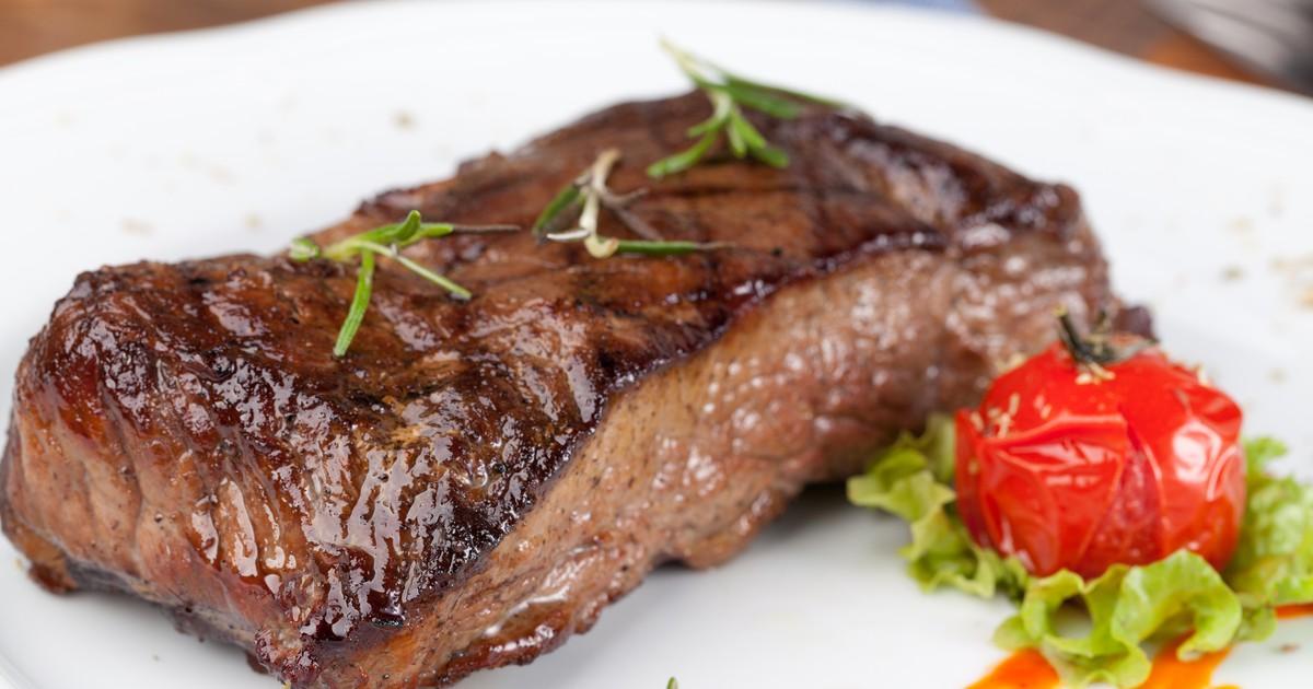 Фото Жареный стейк из говядины