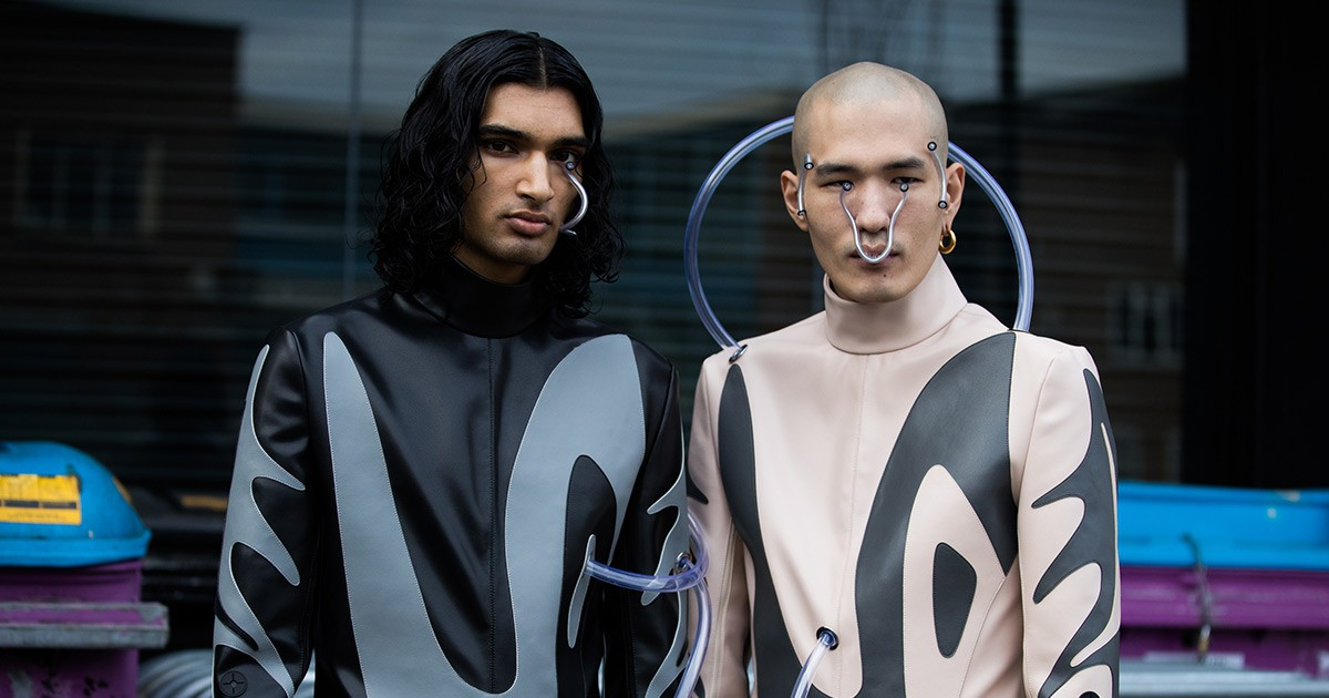 Photo of Xander Zhou Explores the Evolution of Man for FW19