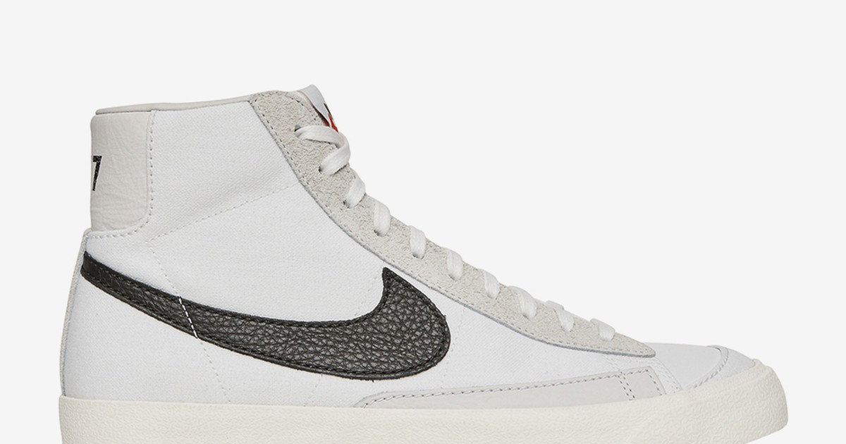 Photo of Slam Jam Is Dropping a Nike Blazer Mid With an Upside-Down Swoosh