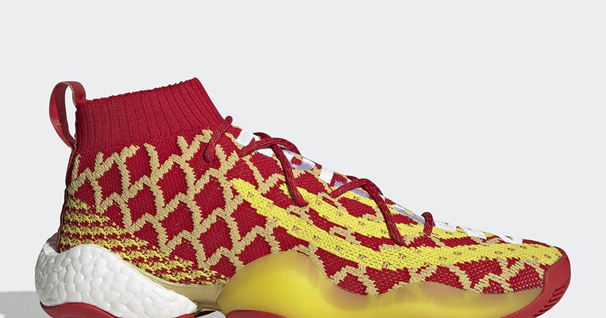 """Photo of Pharrell Designs adidas Crazy BYW """"Chinese New Year"""""""