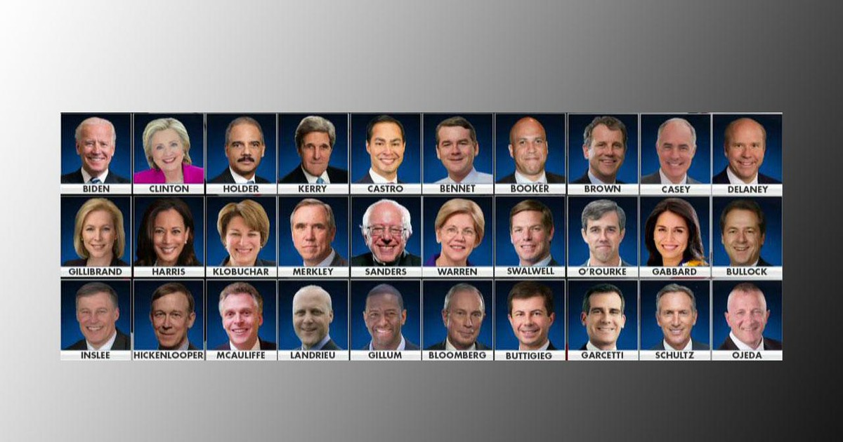 Photo of The 2020 election is here and guess who the Democrats' frontrunner is?