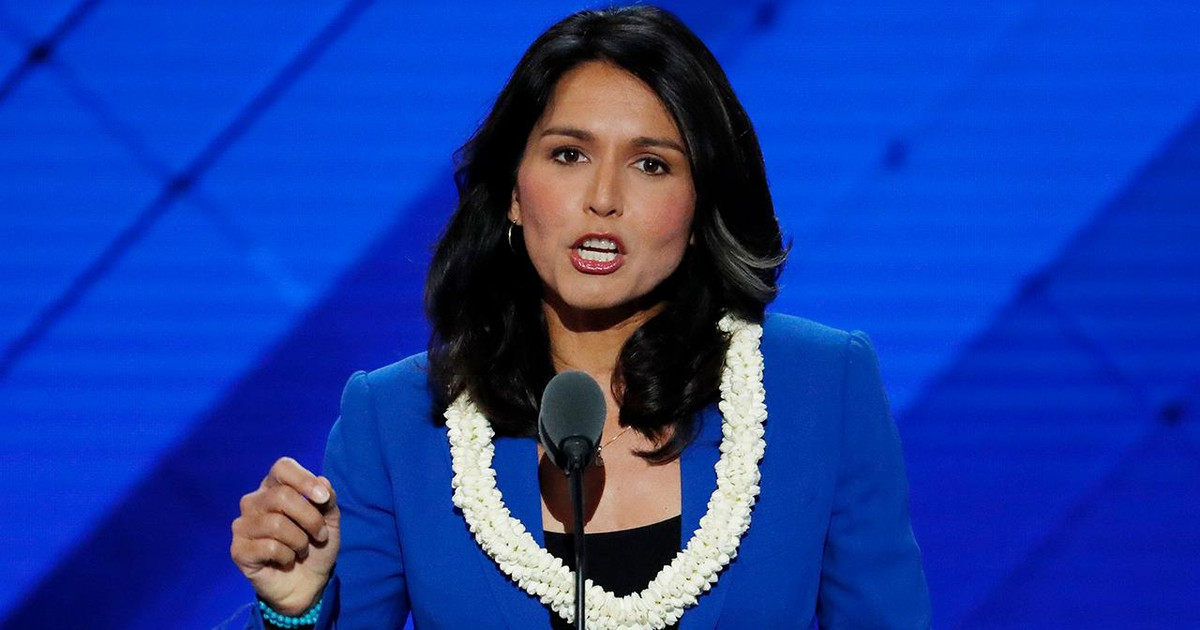 Photo of Tulsi Gabbard under fire for past anti-gay remarks amid 2020 bid, says she has since 'evolved'