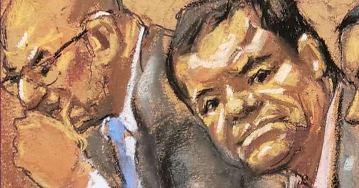 Photo of DEA's first steps to catch 'El Chapo' revealed in court