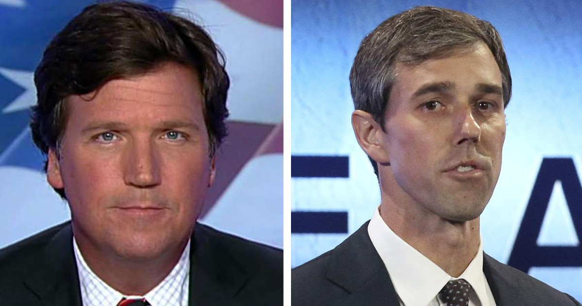 Photo of Tucker Carlson: Beto O'Rourke isn't into details in the immigration debate. But he knows walls are 'bad'