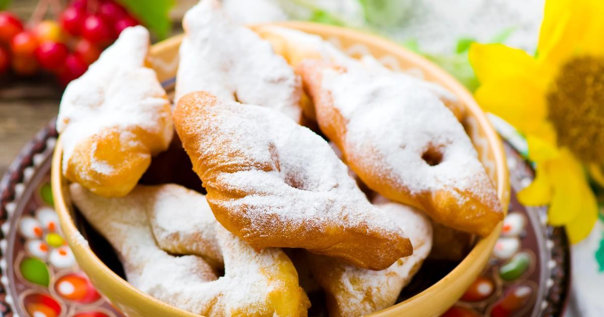 Фото Полтавские вергуны на кефире – дёшево, быстро и вкусно!