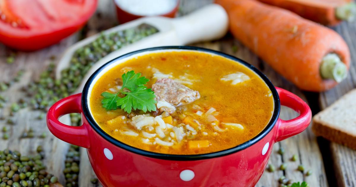 Фото Узбекский суп Машхурда