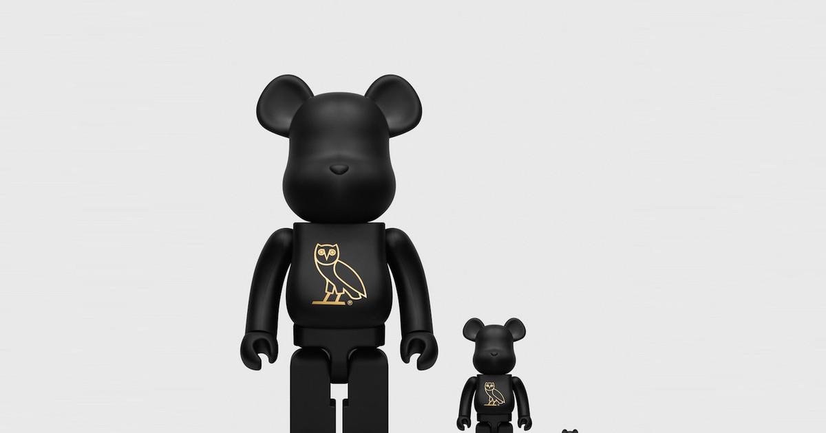 Photo of Drake's OVO & Medicom Toy Are Dropping All-Black Be@rbricks