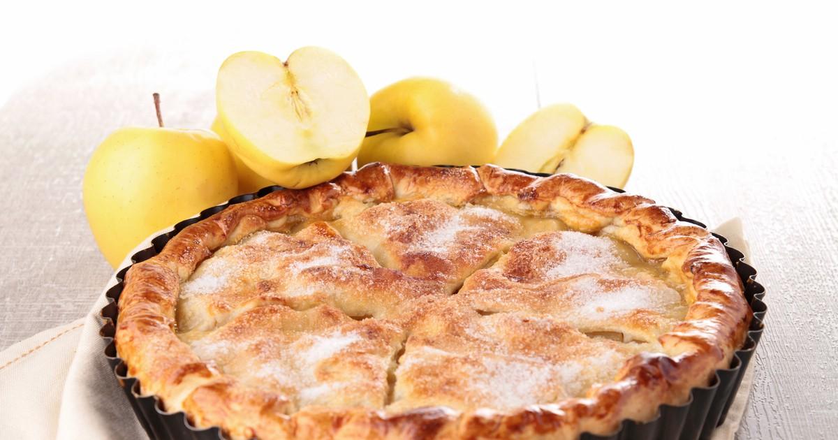 Фото Закрытый яблочный пирог