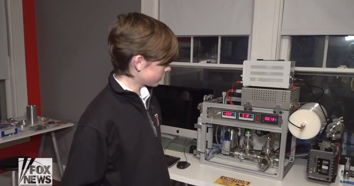Photo of At 12 years old, Memphis boy builds a working nuclear reactor in his family's home