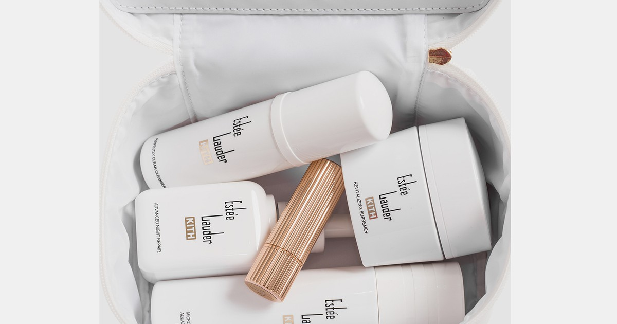 Photo of KITH & Estée Lauder Debut New Skincare Products